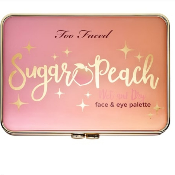 Too Faced Other - Too Faced Sugar Peach Face & Eye Palette